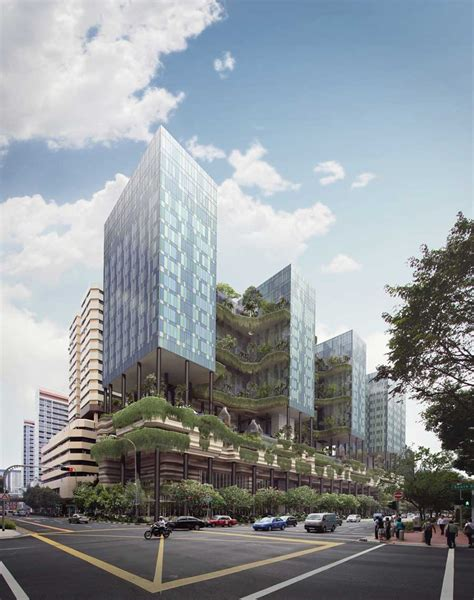 Vertical Park Hotel Singapore Building Architect