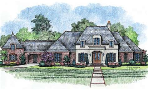 French Country Style House Plans