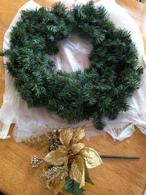do it yourself wreath holiday wreath easy diy tutorial do it yourself for less hometalk
