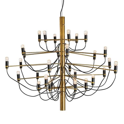 gino sarfatti chandelier mid century 2097 30 chandelier by gino sarfatti for