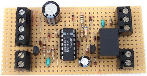 enhanced shed garage alarm circuit diagram