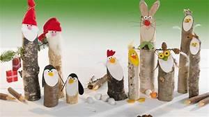 Tiere Aus Holz Basteln : basteln zu weihnachten s e wichtel co ~ Orissabook.com Haus und Dekorationen