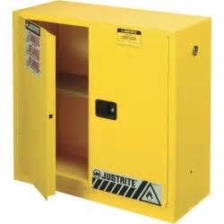 justrite safety cabinet 30 gallon manual door model