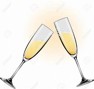 Wedding Champagne Glasses Clip Art (47+)