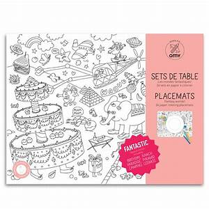 Sets De Table Originaux : placemats als kleurplaat milledoni spot on gifts ~ Voncanada.com Idées de Décoration