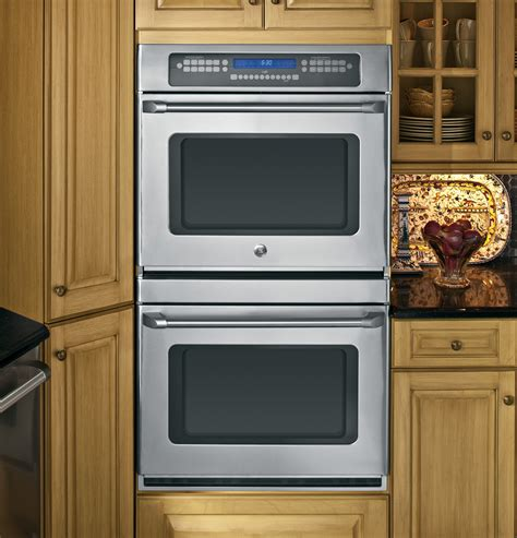 ge cafe series  built  double convection wall oven