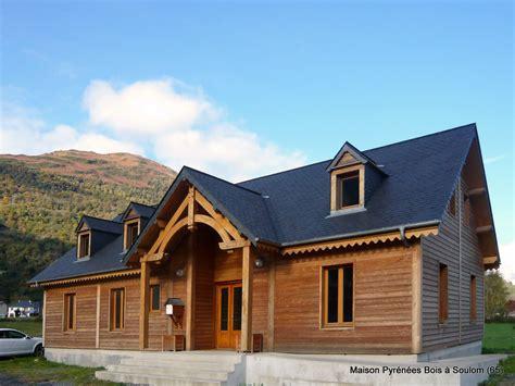 maison bois en montagne 224 soulom hautes pyr 233 n 233 es 65 pyr 233 n 233 es bois maisons ossature bois 64