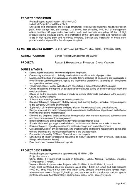 World Bank Cv Format Sle by Curriculum Vitae World Bank Format V3