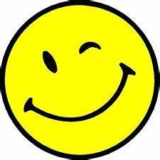 Winking Smiley Face Clipart