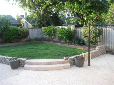 Simple Patio Ideas For Small Backyards Backyard Designs