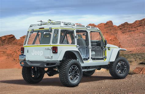 jeep safari 2017 moab easter jeep safari 2017 6 concepts le blog auto