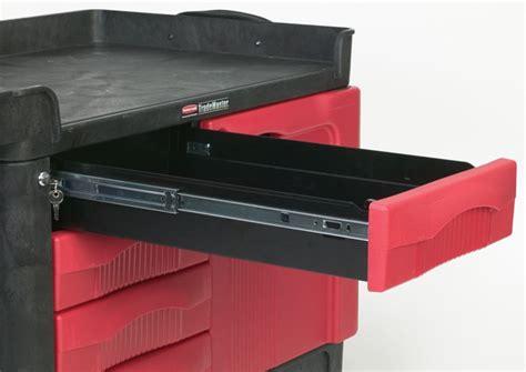 rubbermaid   trademaster cart   drawer
