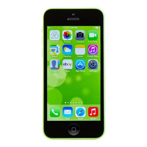 iphone 5c 32gb unlocked apple iphone 5c 32gb green unlocked refurbished mobile