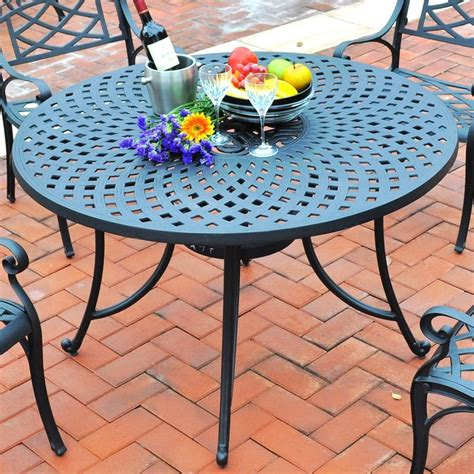 crosley furniture 5 patio dining set chicpeastudio