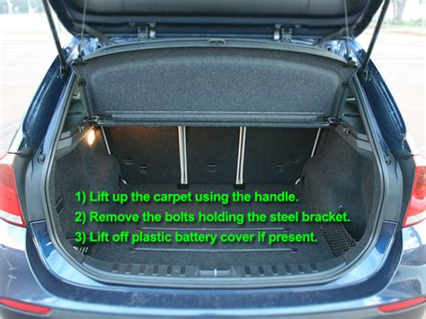 Bmw 1 Series Car Battery Location