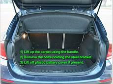 BMW X1 Car Battery Location