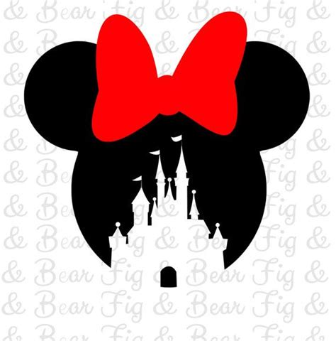 disney minnie mouse castle shirt iron  transfer  girls personalized  minnie mouse