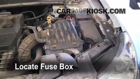 automobile air conditioning repair 2007 chrysler sebring auto manual replace a fuse 2007 2010 chrysler sebring 2007 chrysler sebring limited 2 4l 4 cyl