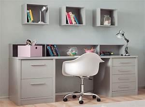Bureau Ado Fille : bureau ado design fabulous chambre ado avec tagres ~ Melissatoandfro.com Idées de Décoration