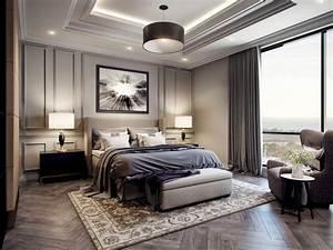 48, Impressive, Classic, Modern, Bedroom, Design, Ideas