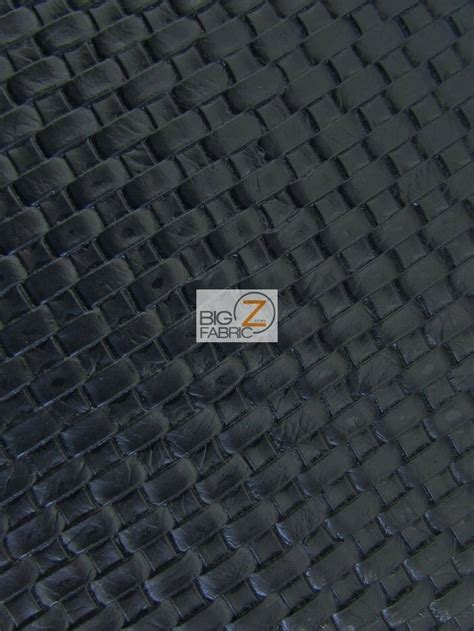 Vinyl Upholstery by Lattice Basket Weave Upholstery Vinyl Fabric Black By