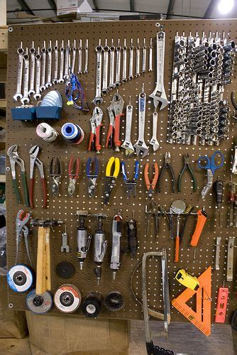 tools  pegboard garage organization garage tools diy