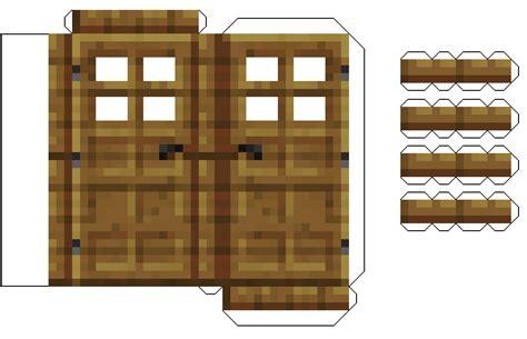 Minecraft Door Papercraft & Mine Craft Paper Gallery