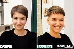 Vorher Nachher Umstyling : damen undercut vorher nachher pophair ~ Markanthonyermac.com Haus und Dekorationen
