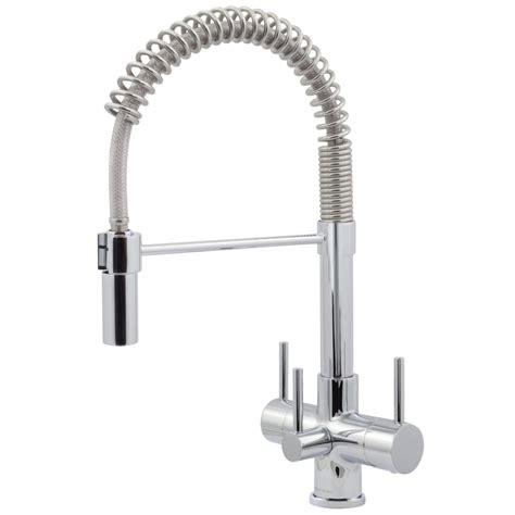kitchen faucet pull sprayer chrome pull spray kitchen tap 3 lever