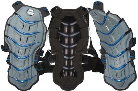 Tryonic Feel 3.7 Vest Ce Level 2 Motorcycle Spine Back