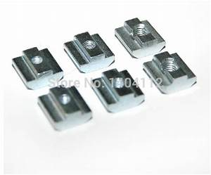 T Nut Profil : m8 t sliding nut block for 45 series aluminum profile slot 10 zinc coated plate aluminum ~ Yasmunasinghe.com Haus und Dekorationen