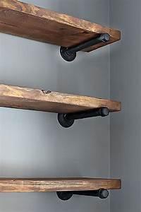 45, Diy, Pantry, Shelves, Built, With, Pipe, U0026, Fittings