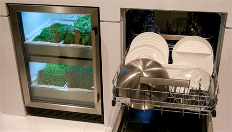interior design kitchens integrated indoor edible and ornamental indoor gardens at
