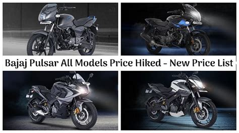 Now we are going to tell about the bajaj pulsar 150 c&g new 2019 model review and price in india. All BS6-compliant Bajaj Pulsar Motorcycles Price Hiked ...