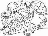 Coloring Beach Pages Themed Printable Getcolorings sketch template