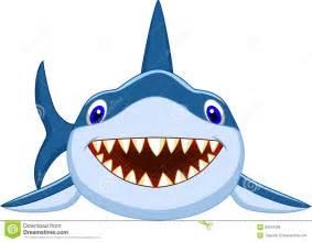 Cute Cartoon Sharks