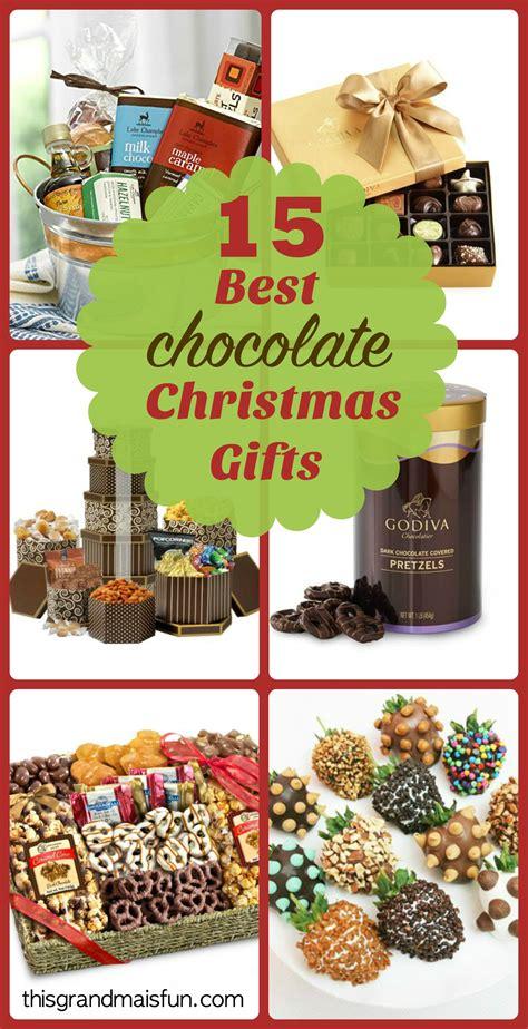15 best chocolate christmas gifts tgif this grandma is fun