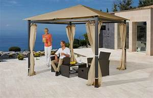 Pavillon Aruba 3x4 : pavillon alu in 2 gr en sandfarben kaufen otto ~ Yasmunasinghe.com Haus und Dekorationen