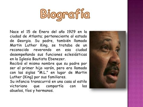 Adolf Resumen Corto De Su Vida by Martin Luther King