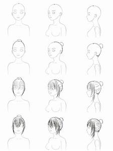 Drawing Step By Step Hairstyles | newhairstylesformen2014.com