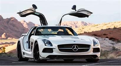 Mercedes Benz Amg Sls Wings Desktop Wallpapers