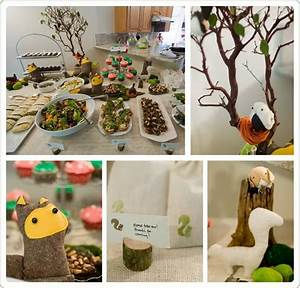 Woodland Themed Baby Shower Decorations | Baby Shower Ideas