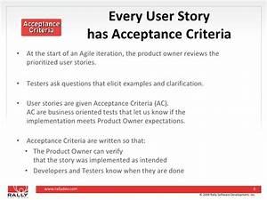 28 agile acceptance criteria template prince2 in With agile acceptance criteria template