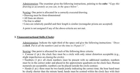 • if the client has less than 12 years of formal education, add one point. Moca Scoring Nuances With Clock Draw / Curiosity About ...