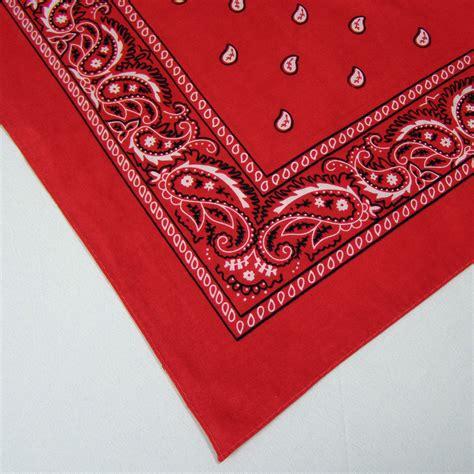 Red Bandana Print - Lasting Impressions Event Rentals
