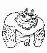 Trollhunters Aaarrrgghh Xcolorings 680px 54k 599px sketch template