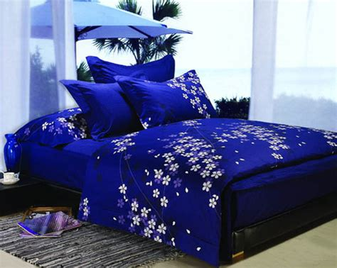 blue and purple bedding sets royal bedroom decorating ideas