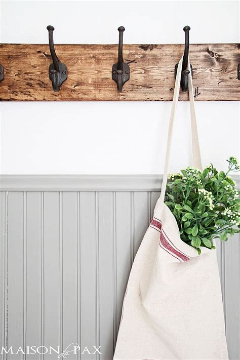 bathroom towel hooks ideas 15 diy coat rack ideas that are easy and