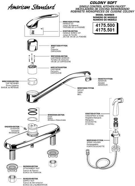 standard kitchen faucet parts standard kitchen faucet parts akomunn com