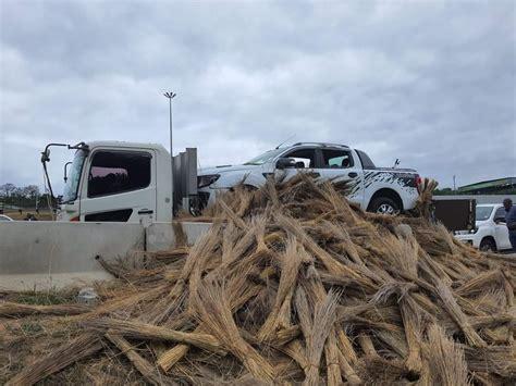 Stolen vehicle hidden under brooms en route to Mozambique ...